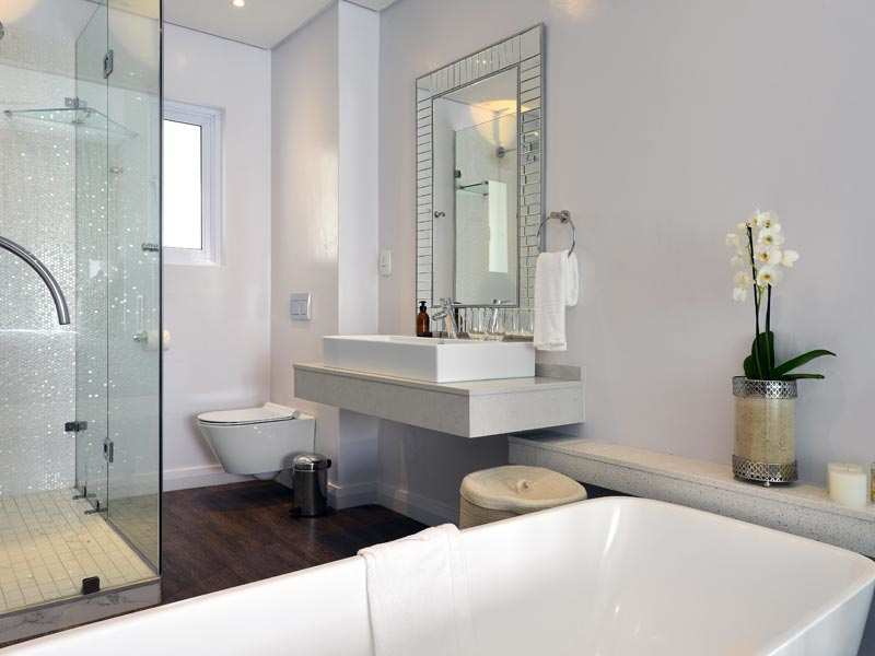 Franschhoek Boutique Hotel Cape Winelands Luxury Western Cape South Africa Accommodation Blanc Bathroom