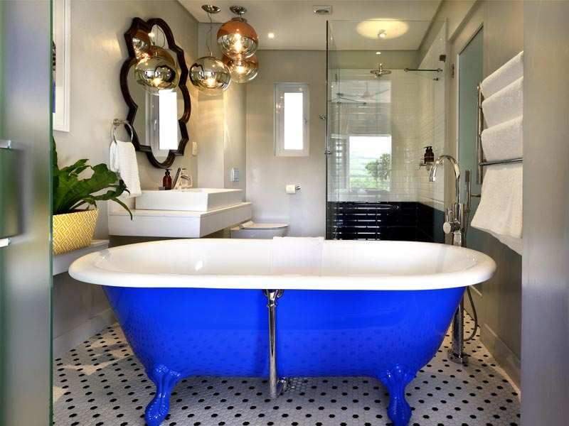 Franschhoek Boutique Hotel Cape Winelands Luxury Western Cape South Africa Accommodation Sapphire Bathroom