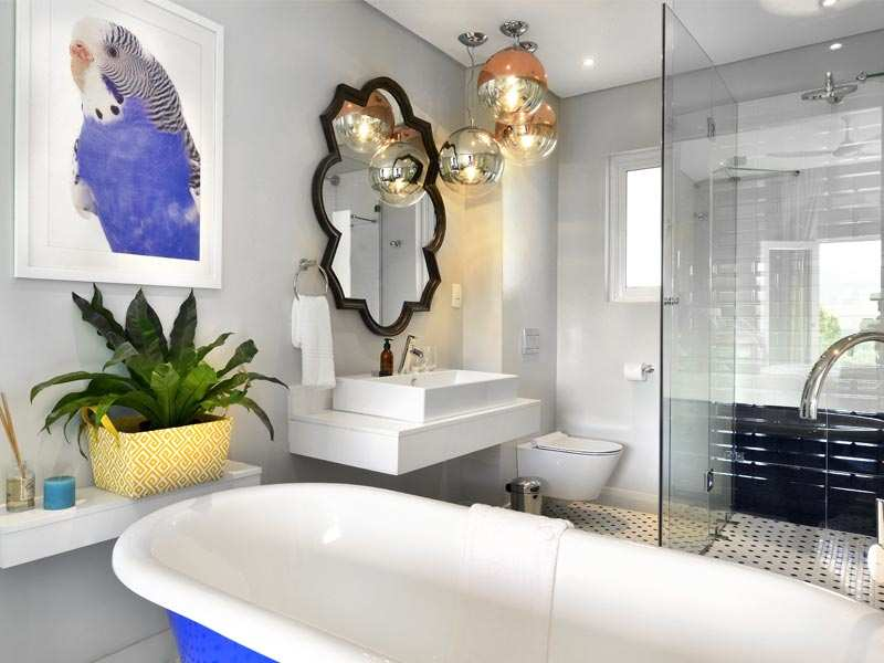 Franschhoek Boutique Hotel Cape Winelands Luxury Western Cape South Africa Accommodation Sapphire Bathroom 1